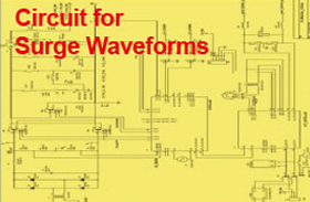 circuit for surge wavwforms